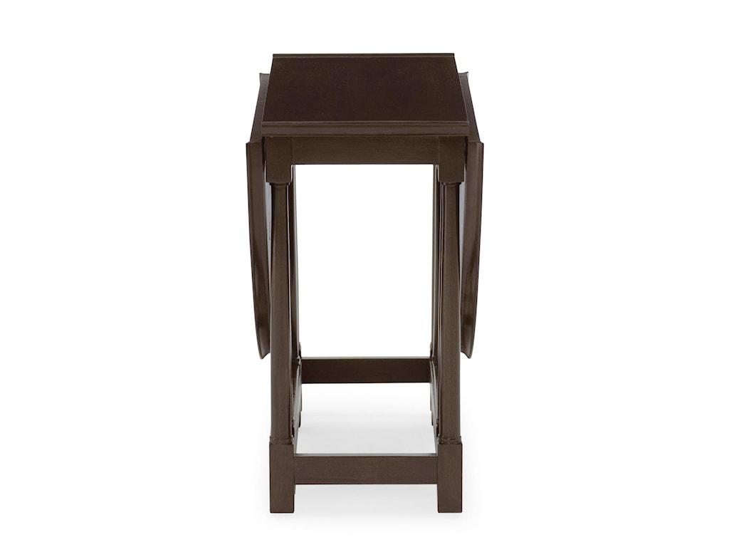 Bernhardt Haven Drop Leaf Side Table Stuckey Furniture End Table