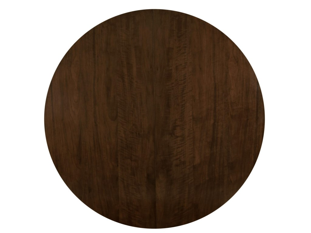 Round Table Top in Brunette Finish
