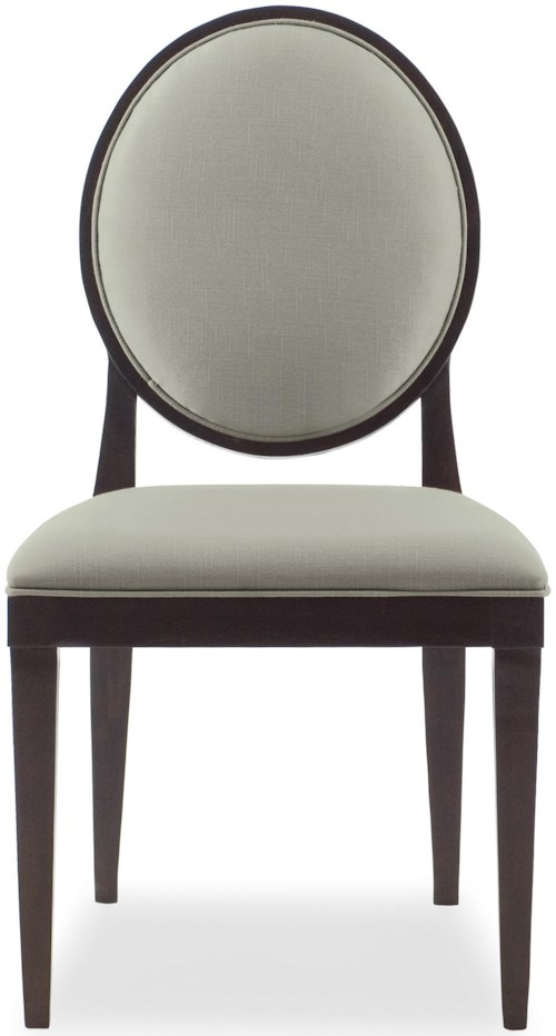 Bernhardt Haven <b>Customizable</b> Side Chair with Oval Back