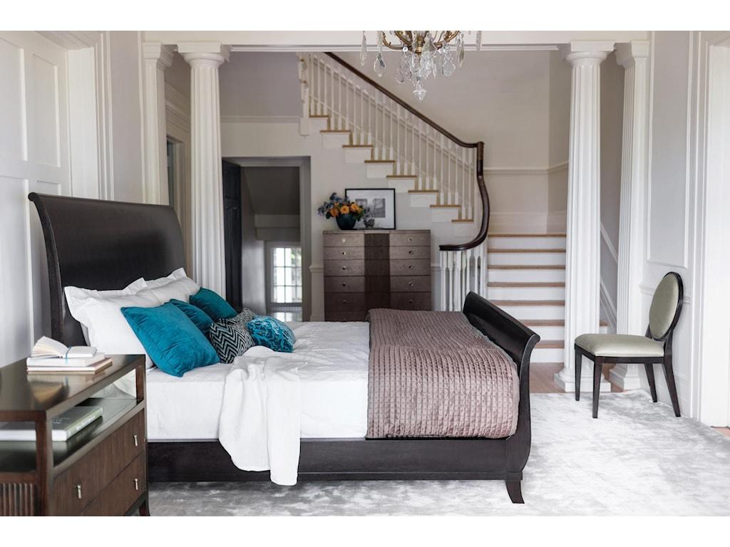 Bernhardt HavenQueen Sleigh Bed
