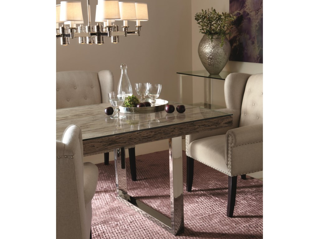 Shown with Matching Dining Room Items. Table Shown May Not Represent Size Indicated.