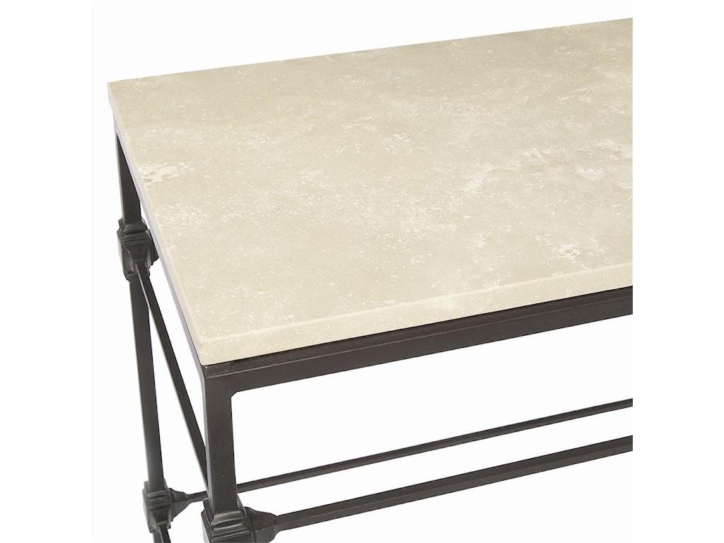Honed Travertine Stone Top
