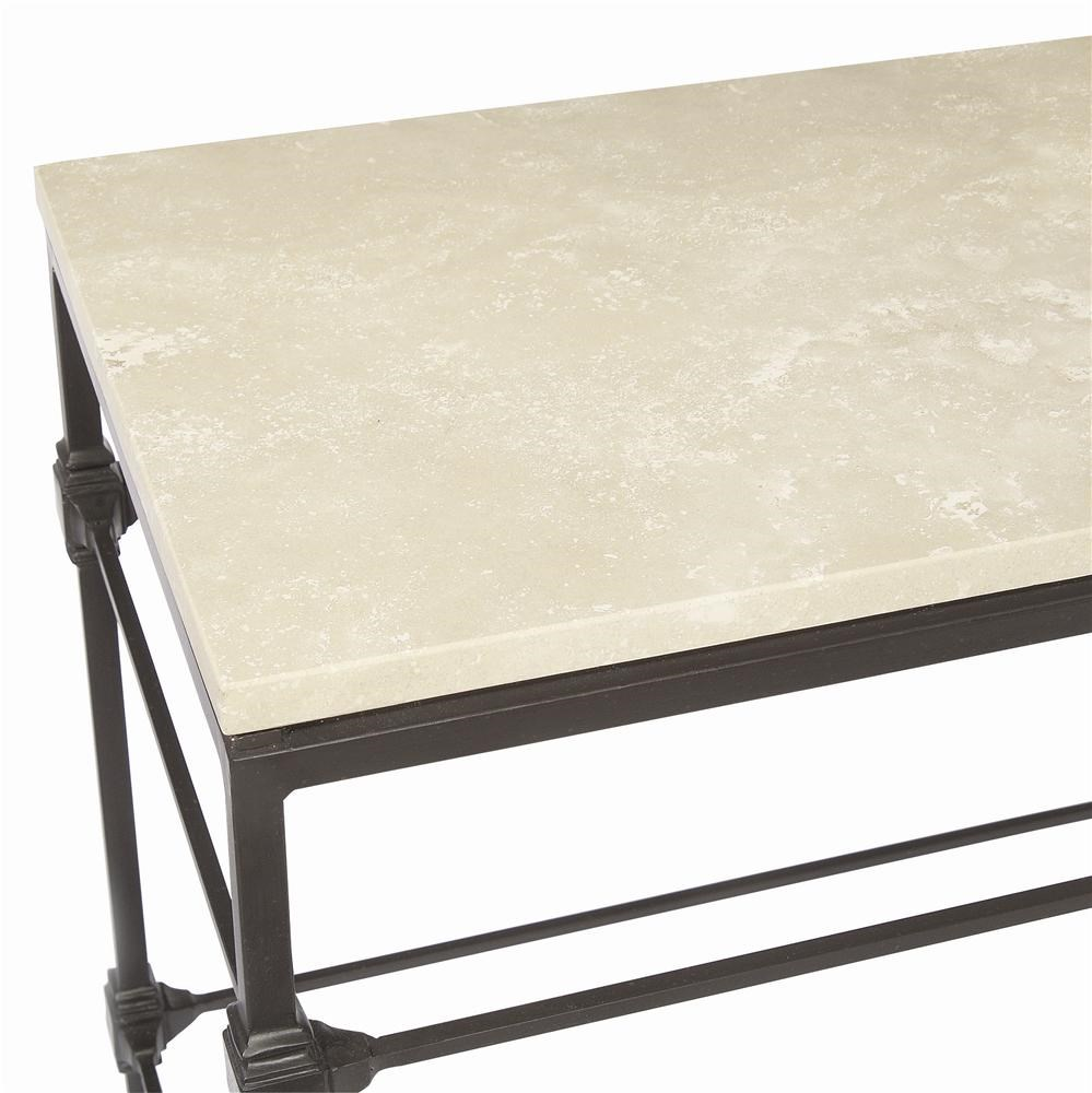 ... Honed Travertine Stone Top