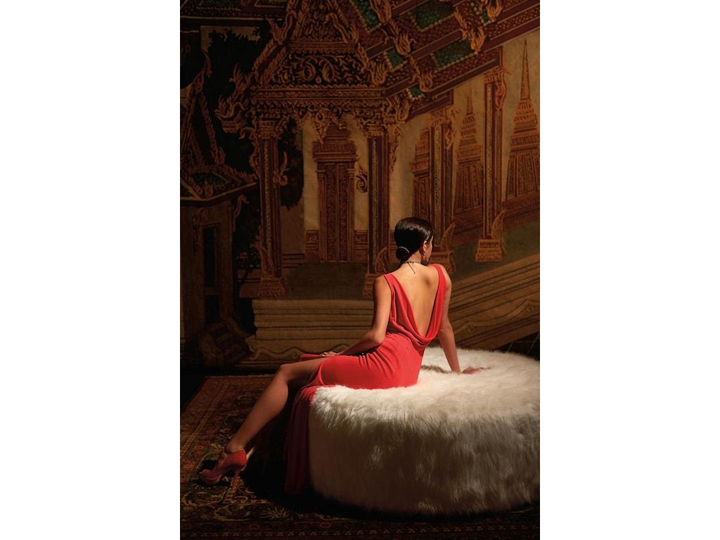 Bernhardt Interiors - AccentsTyre Round Ottoman