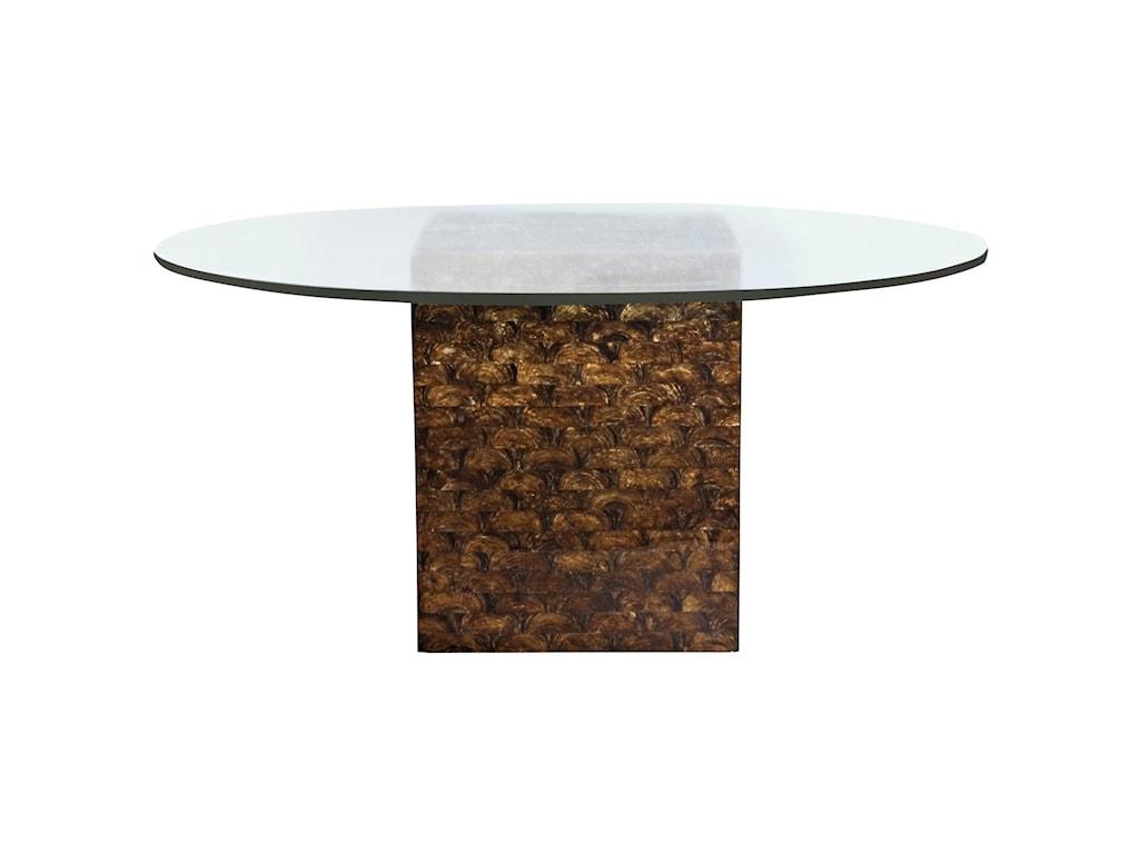 Bernhardt Interiors Alameda 998 054p 362 773 54 Glass Round