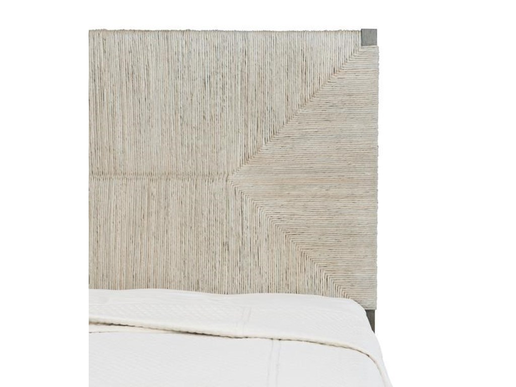 Bernhardt Interiors - AlannisQueen Woven Panel Bed