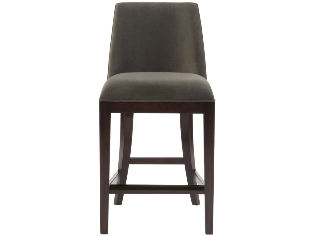 wholesale dealer 68c55 b05b4 Interiors - Bailey Contemporary Counter Height Stool by Bernhardt at Dunk &  Bright Furniture