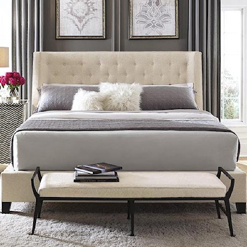 Bernhardt Interiors - Beds Maxime California King Platform Wing Bed