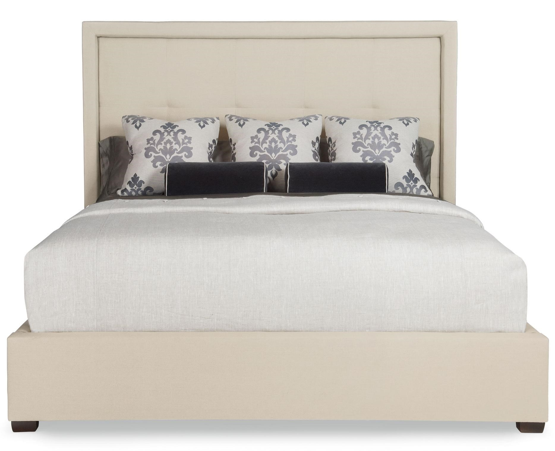 Bernhardt Interiors   BedsKing Drake Upholstered Bed