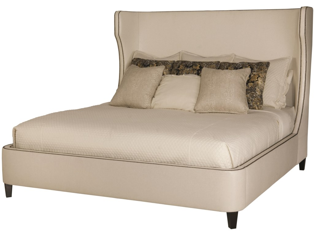 Bernhardt Interiors - BedsWheeling King Upholstered Bed