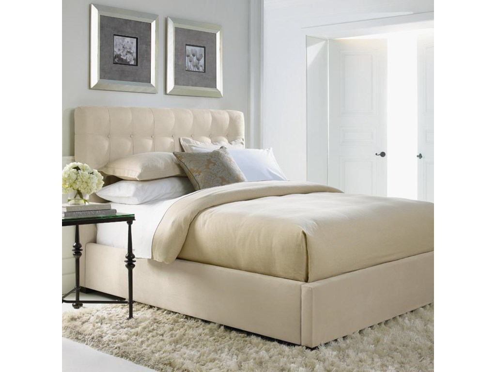 Bernhardt Interiors - BedsFull Avery Button-Tufted Bed