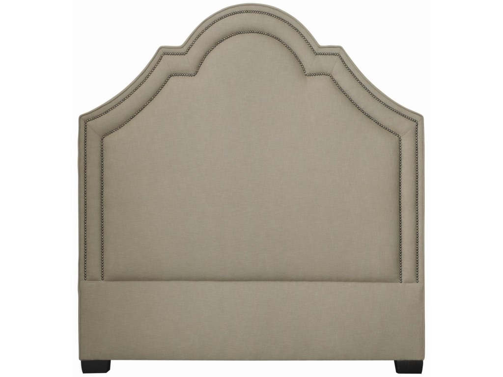 Bernhardt Interiors - BedsTwin Madison Crown Top Headboard