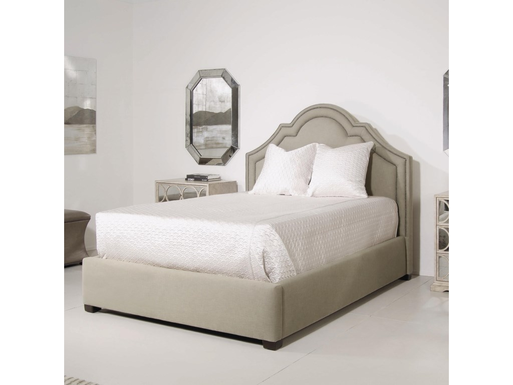 Bernhardt Interiors - BedsMadison Crown Top Full Size Bed