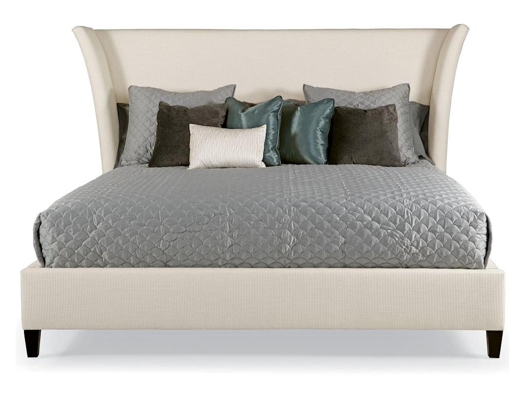 Bernhardt Interiors - BedsKing Sienna Flare Upholstered Bed