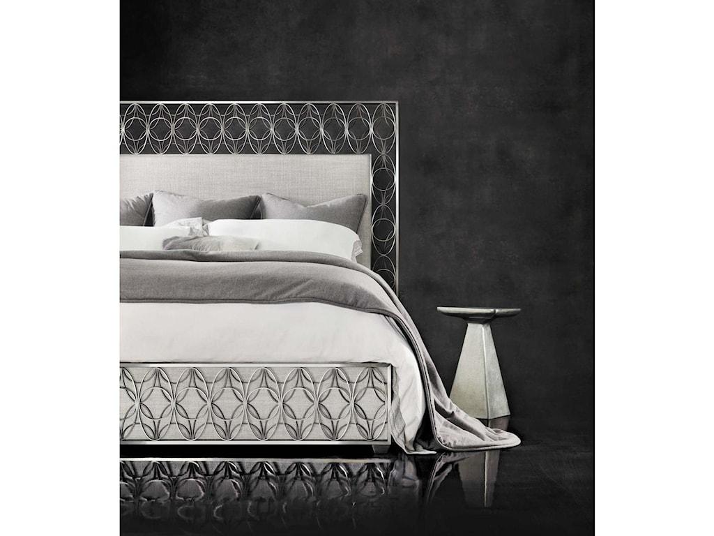 Bernhardt Interiors - CancelloUpholstered Metal Bed