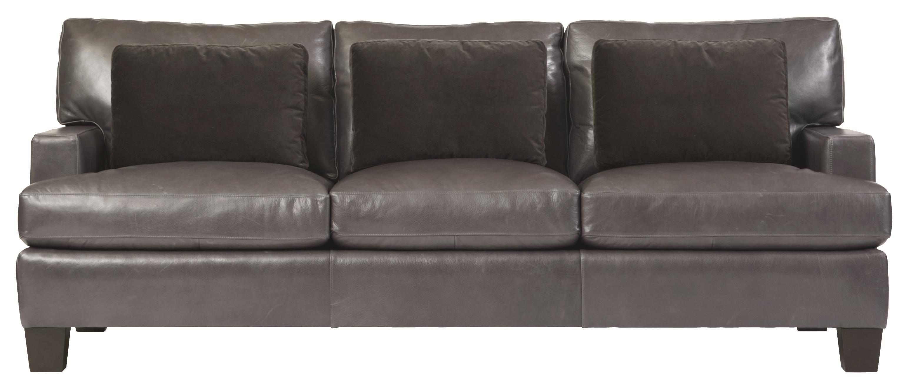 Bernhardt Interiors   Denton N6667L Stationary Sofa In Modern Furniture  Style