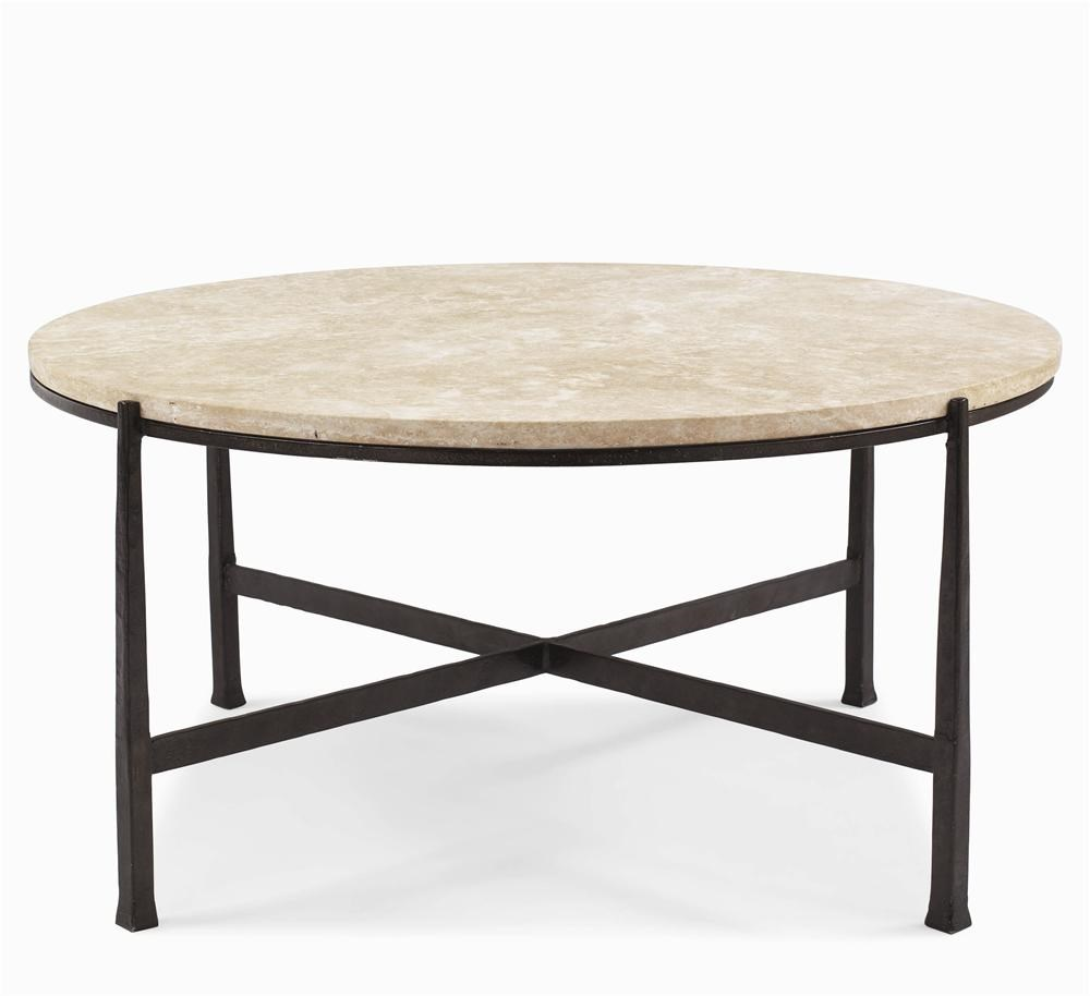 Bernhardt Interiors   Duncan Round Cocktail Table