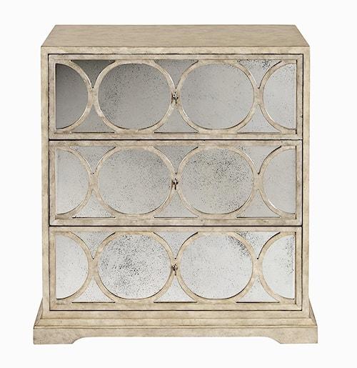 Bernhardt Interiors - Ellery 3 Drawer Nightstand