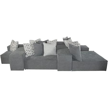 Sectional Sofa (10-piece)