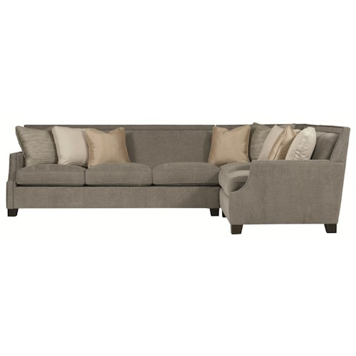 Bernhardt Interiors - Franco Sectional Sofa