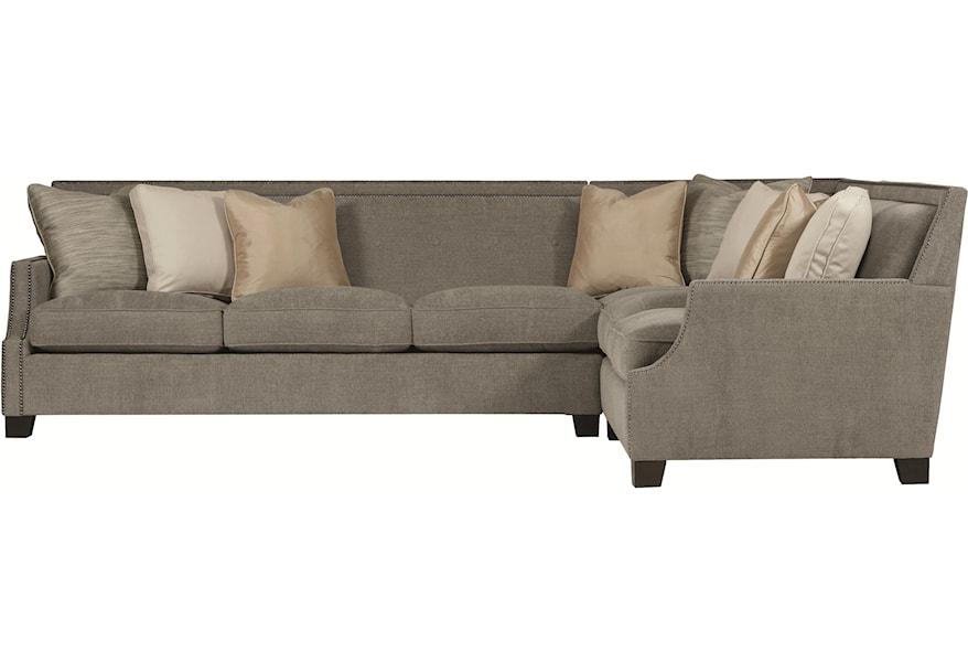 Franco Contemporary Sectional Sofa