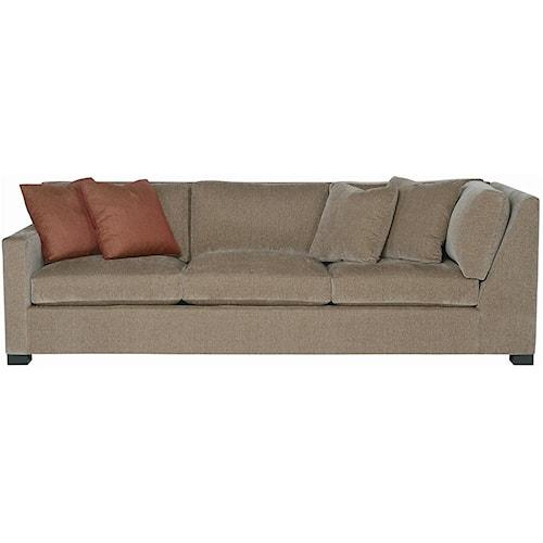 Bernhardt Interiors - Kelsey Left Arm Return Sofa