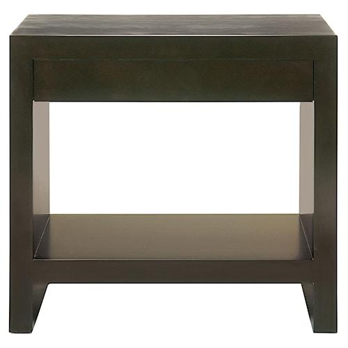 Bernhardt Interiors - Merrick Merrick Nightstand with One Drawer & One Shelf