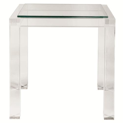 Bernhardt Interiors - Moderne Square End Table