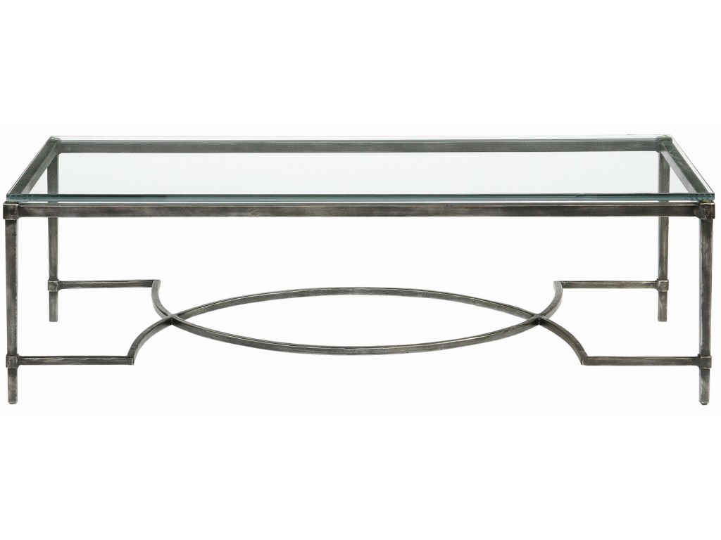 Bernhardt Interiors - AccentsPalmer Metal Cocktail Table