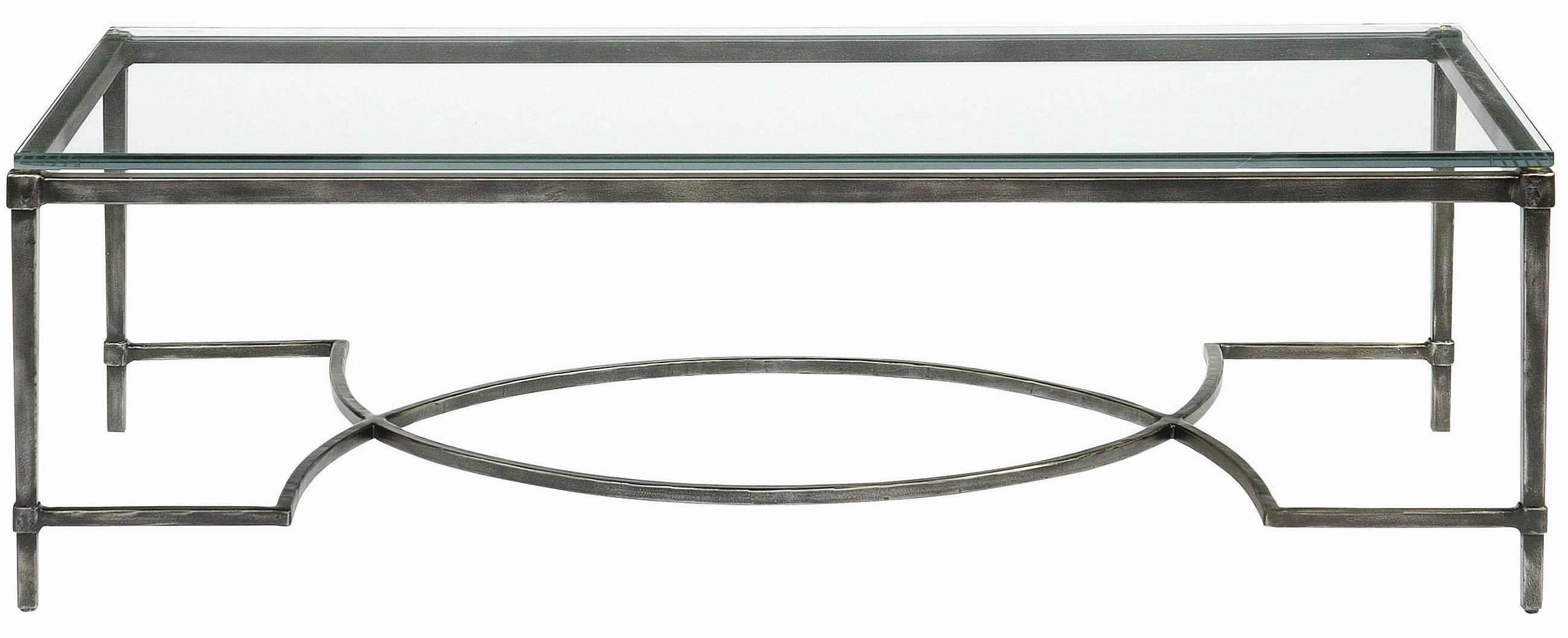 Bernhardt Interiors   Accents Palmer Metal U0026 Glass Cocktail Table