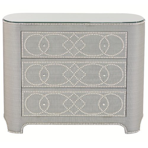 Bernhardt Interiors - Accents Villette Chest with 3 Drawers
