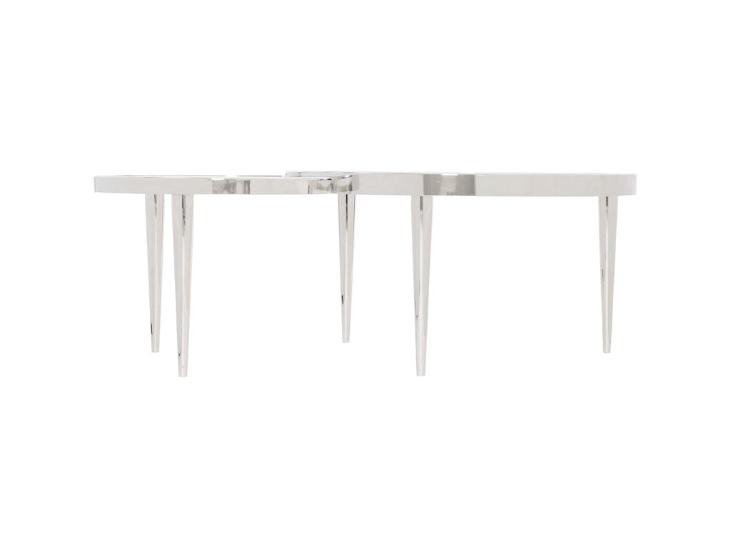 Bernhardt Interiors - OrnetteStainless Steel Cocktail Table