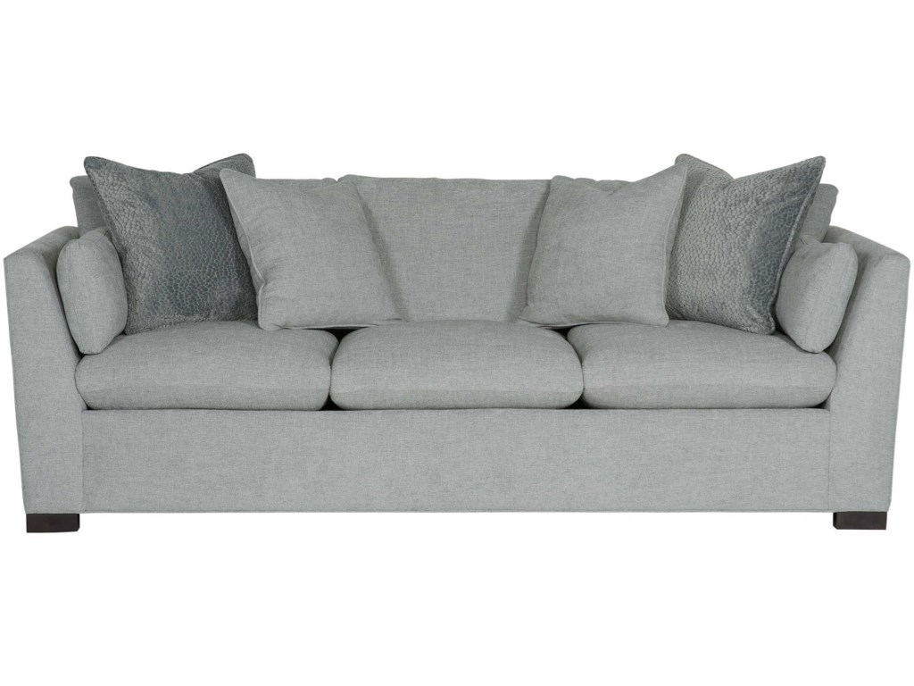 Bernhardt Interiors - Serenity N6327 Contemporary Sofa with ...
