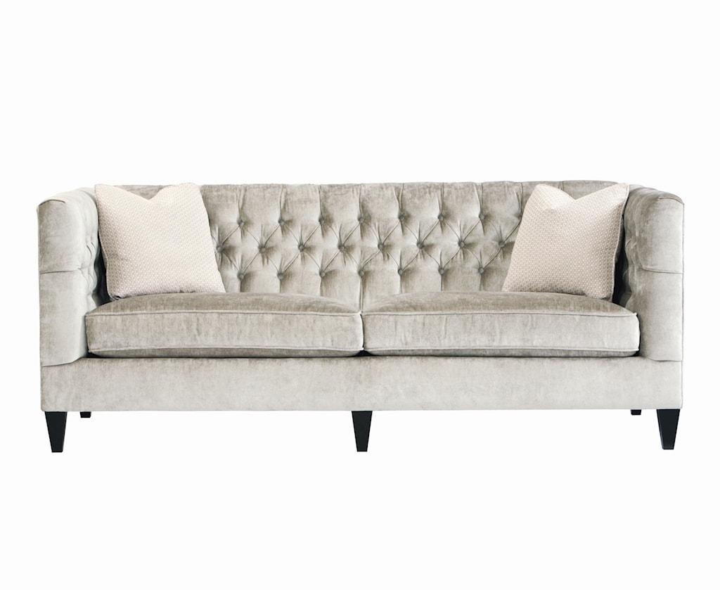 Bernhardt Interiors Sofas Beckett Accent Sofa Baer s Furniture