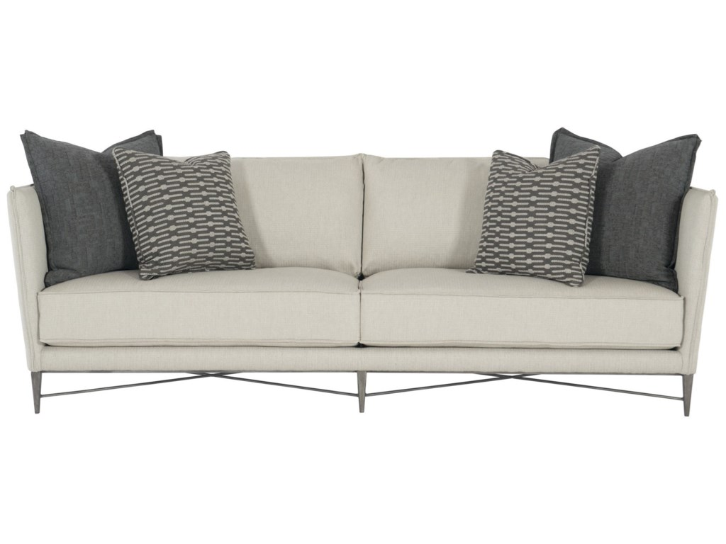 Bernhardt Interiors - Stratford N5107 Contemporary Sofa with ...