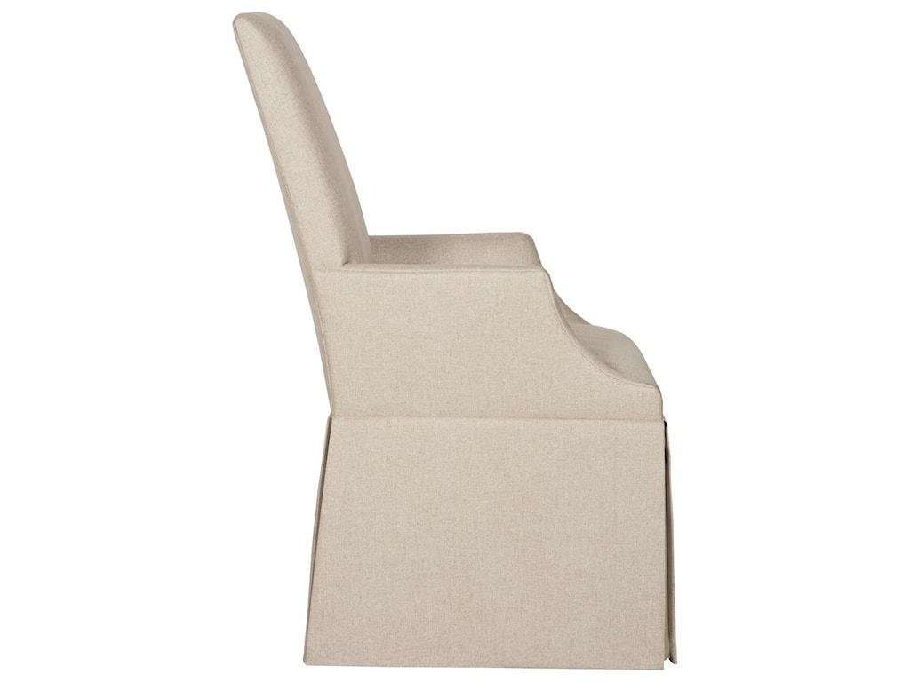 Bernhardt Interiors - TessaSkirted Arm Chair