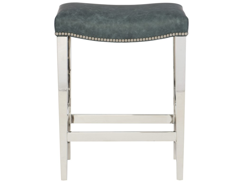Bernhardt Interiors - ThorpeLeather Counter Height Stool