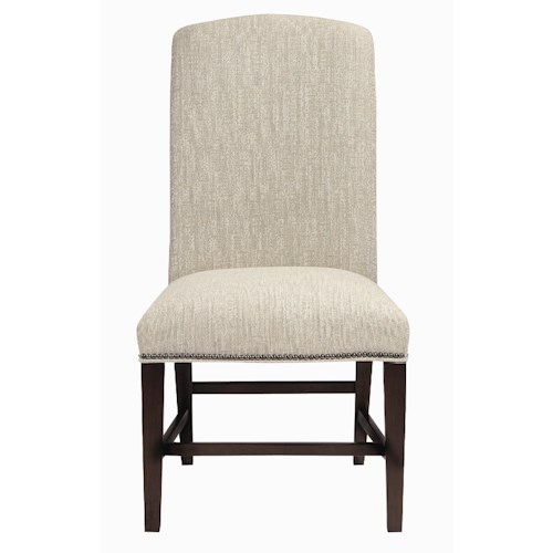 Bernhardt Interiors - Chairs Hadden Exposed Wood Side Chair
