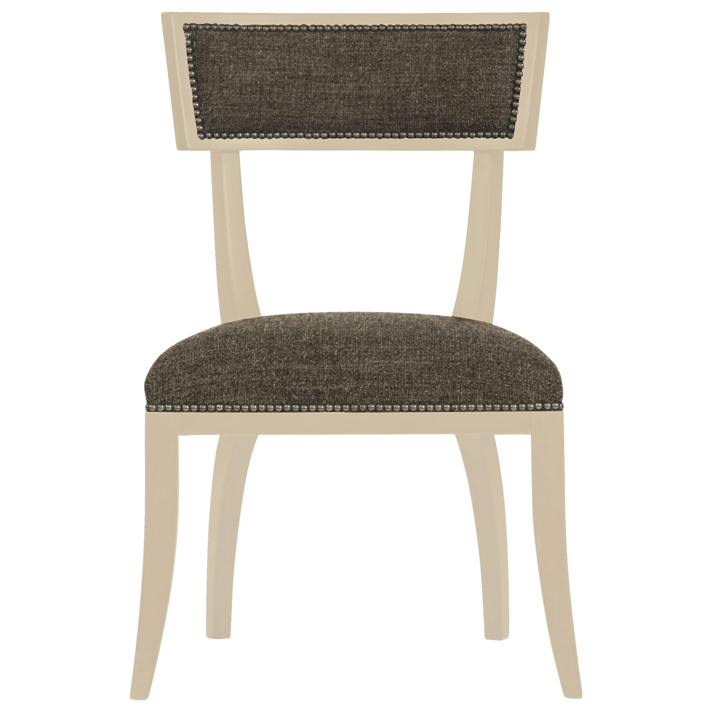 Bernhardt Interiors   Chairs Delancey Chair With Decorative Nail Trim