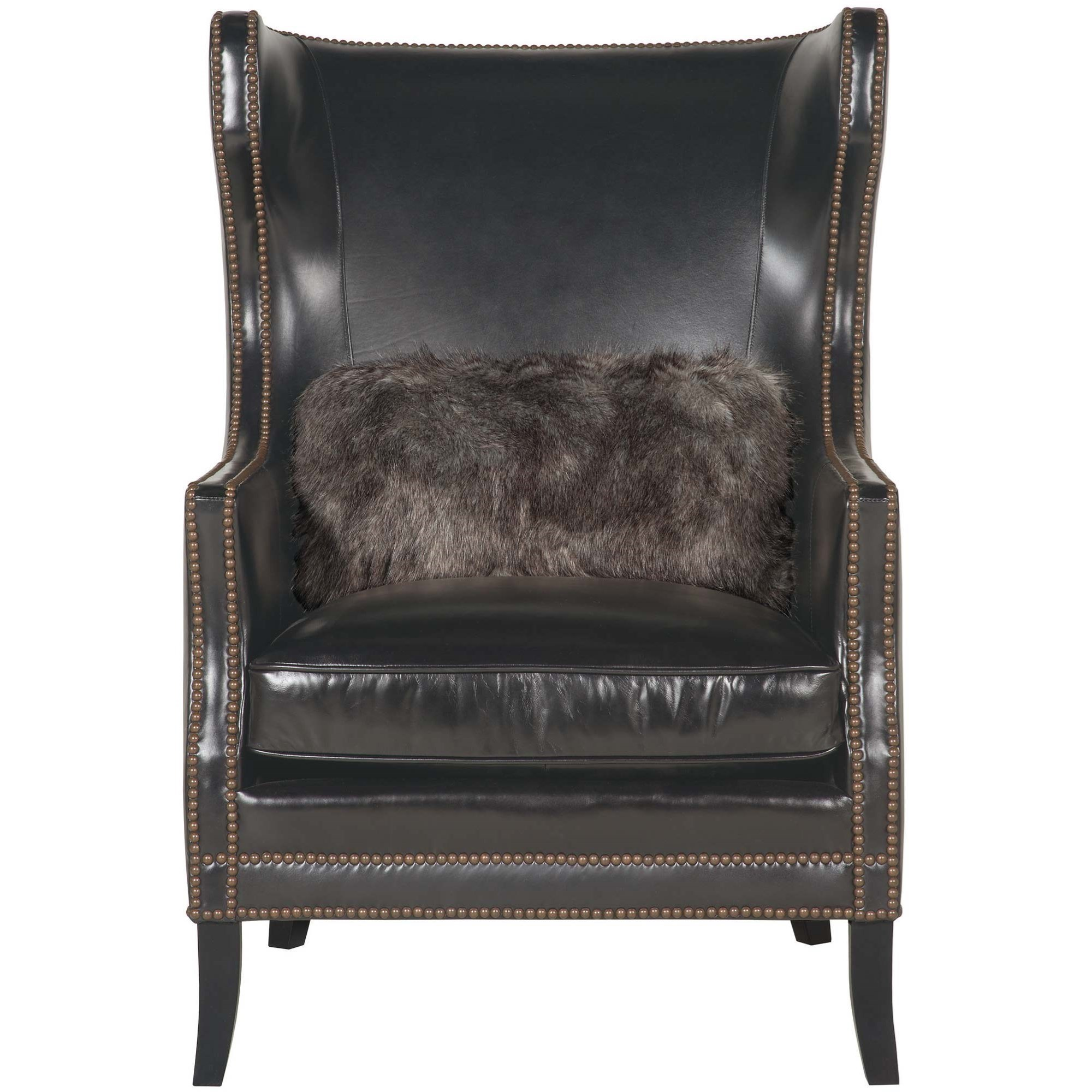 Bernhardt Interiors Chairs Kingston Contemporary Wing Chair