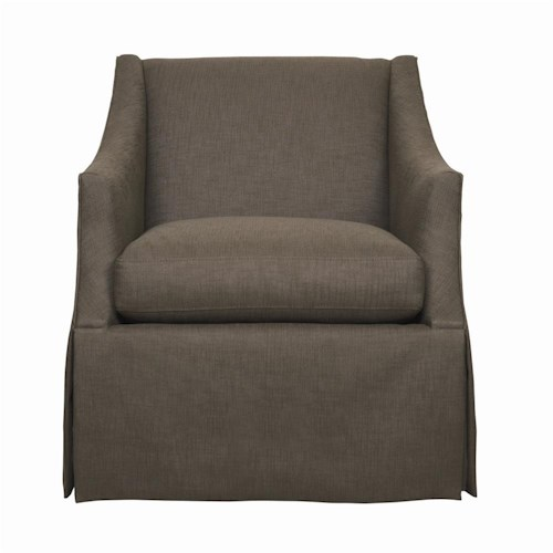 Bernhardt Interiors - Chairs Clayton Upholstered Chair with Track Arms