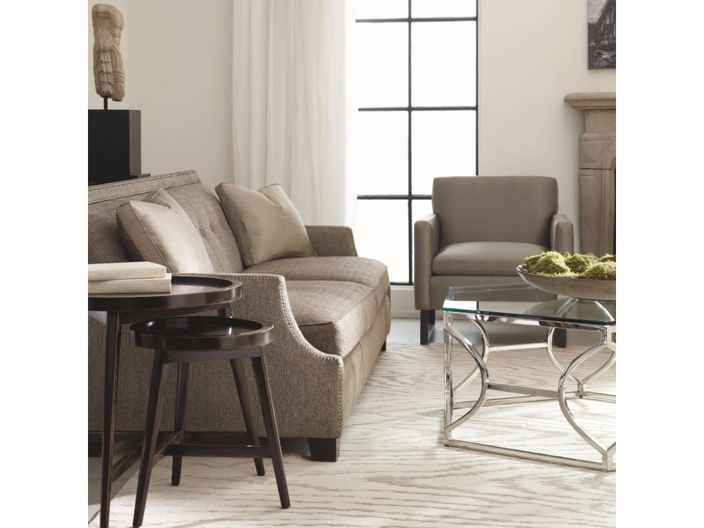 Shown with Coordinating Sofa and Tables. Chair Shown May Not Represent Exact Features Indicated.