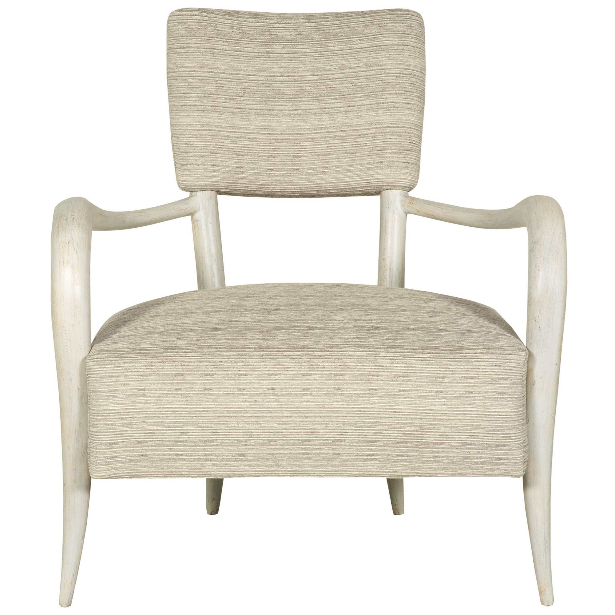 Bernhardt Interiors   Chairs Elka Chair With Modern Rustic Style