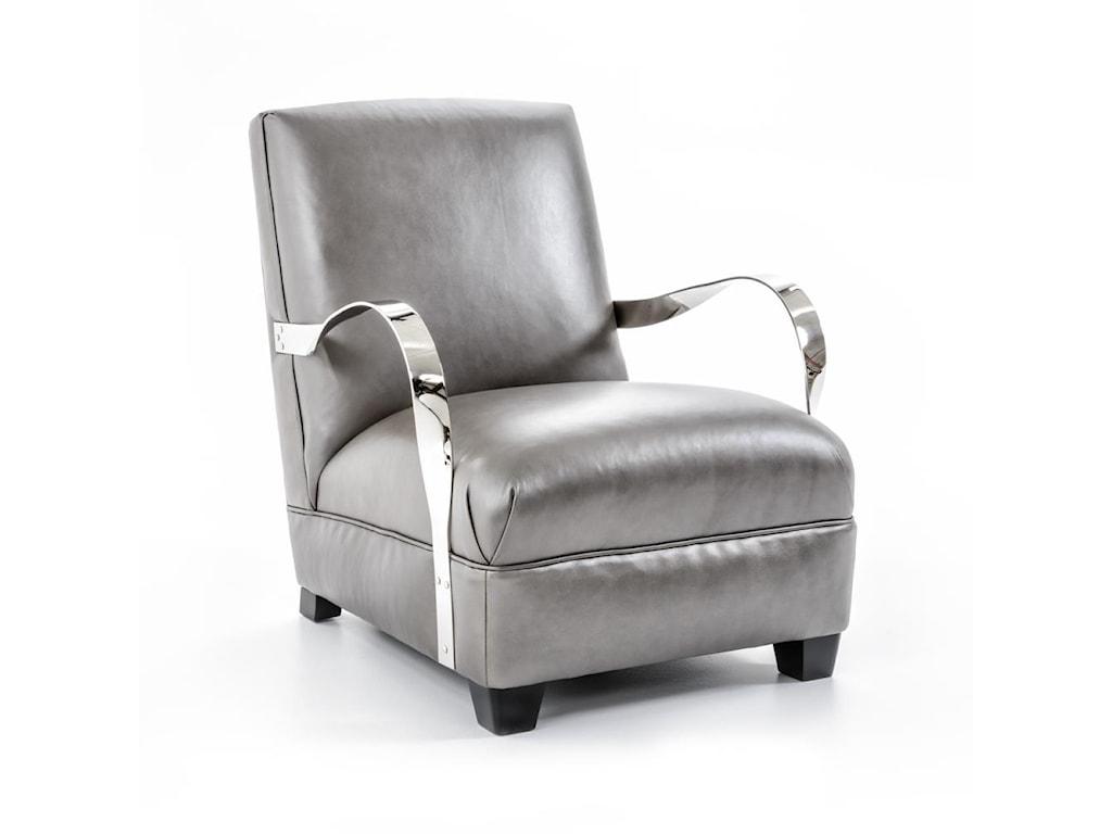 Bernhardt Interiors-ChairsMarkham Leather Chair