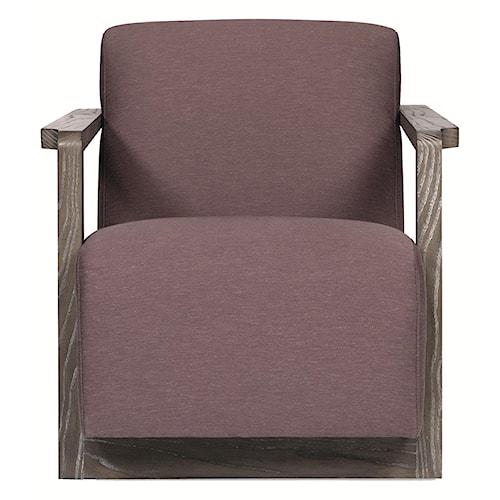 Bernhardt Interiors - Chairs Wynn Chair with Modern Style