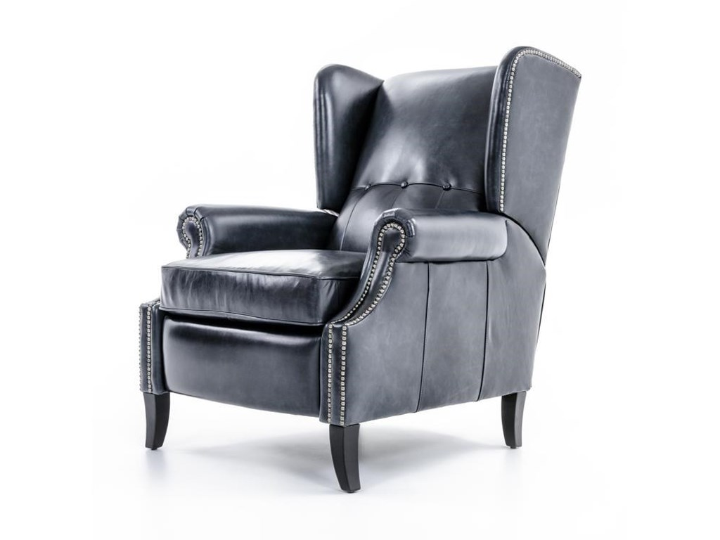 Bernhardt JeremyWing Chair with Tufts