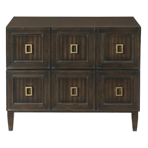 Bernhardt Jet Set Bachelor's Chest with 2 Drawers