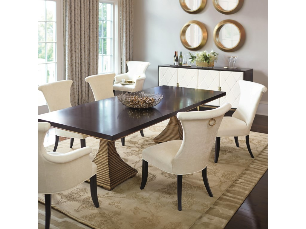 Bernhardt Jet Set7 Piece Dining Set