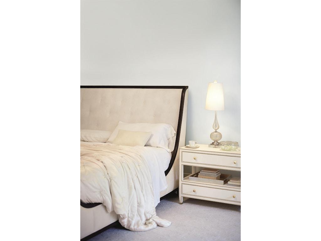 Bernhardt Jet SetQueen Upholstered Bed