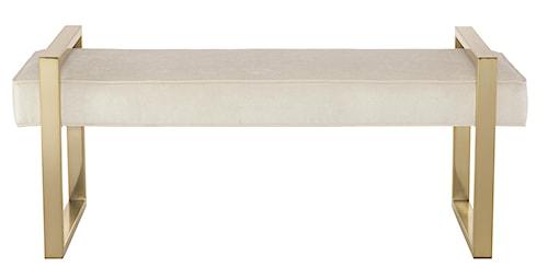 Bernhardt Jet Set <b>Customizable</b> Bench with Steel Frame
